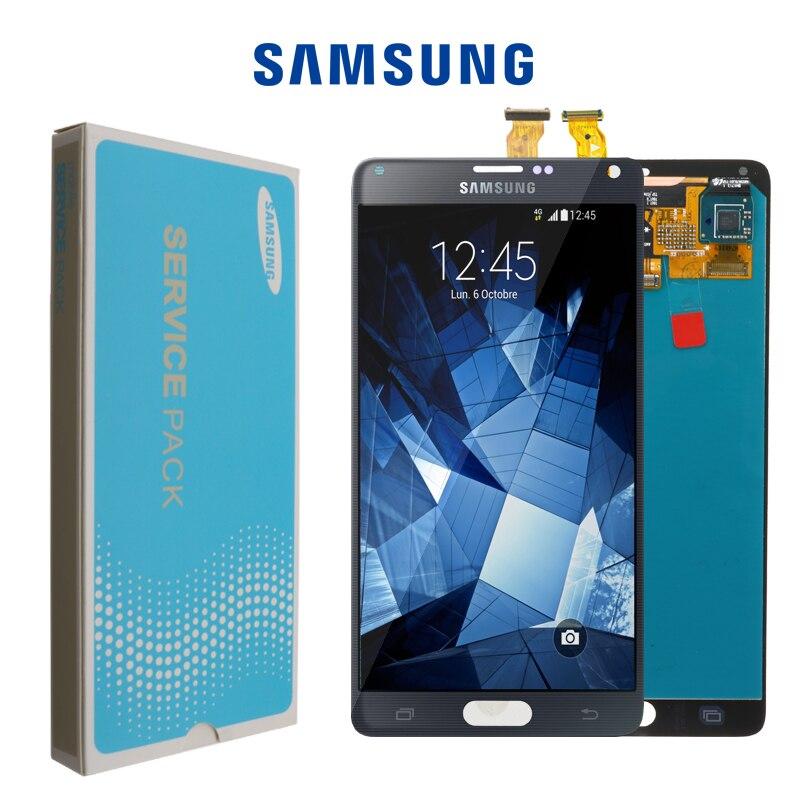ORIGINAL 5 7 LCD Replacement for SAMSUNG Galaxy Note 4 Note4 N910 N910C N910A N910F N910H