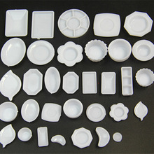 Dollhouse Miniature Set-Model Fit-Toy Dishes Food-Doll-Accessories Pretend Play 1/6-Scale