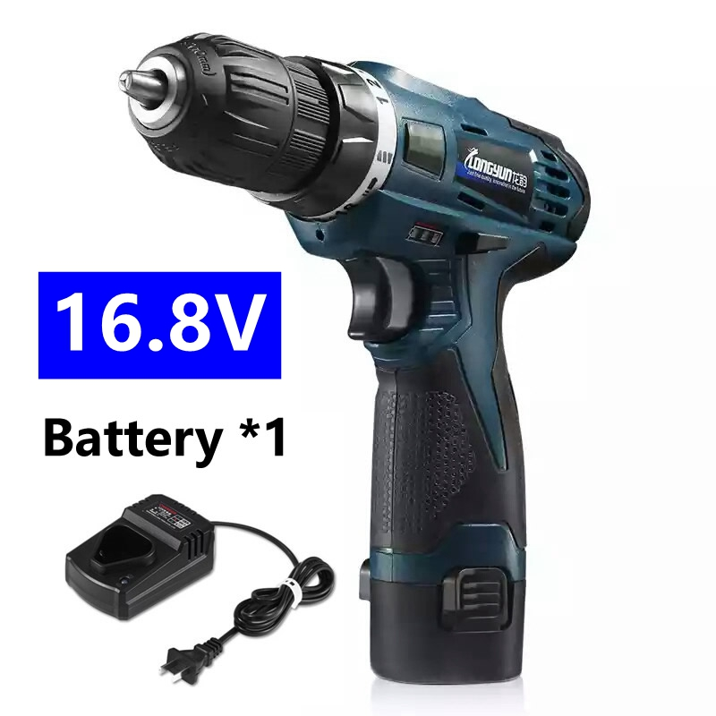 MXITA  Multi-function Rechargeable 16.8V Lithium Battery*1 Wireless Electric Drill bit Home cordless Screwdriver  tool