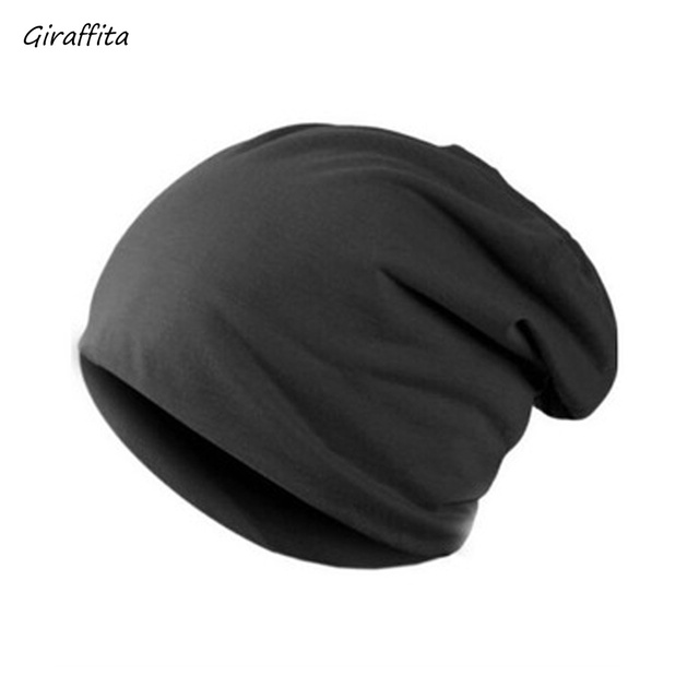 e570eb767 Unisex Plain Black Warm Soft Beanie Skull Knit Cap Winter New Beanies Solid  Color Hat Gorro For Men Women-in Skullies & Beanies from Men's Clothing &  ...