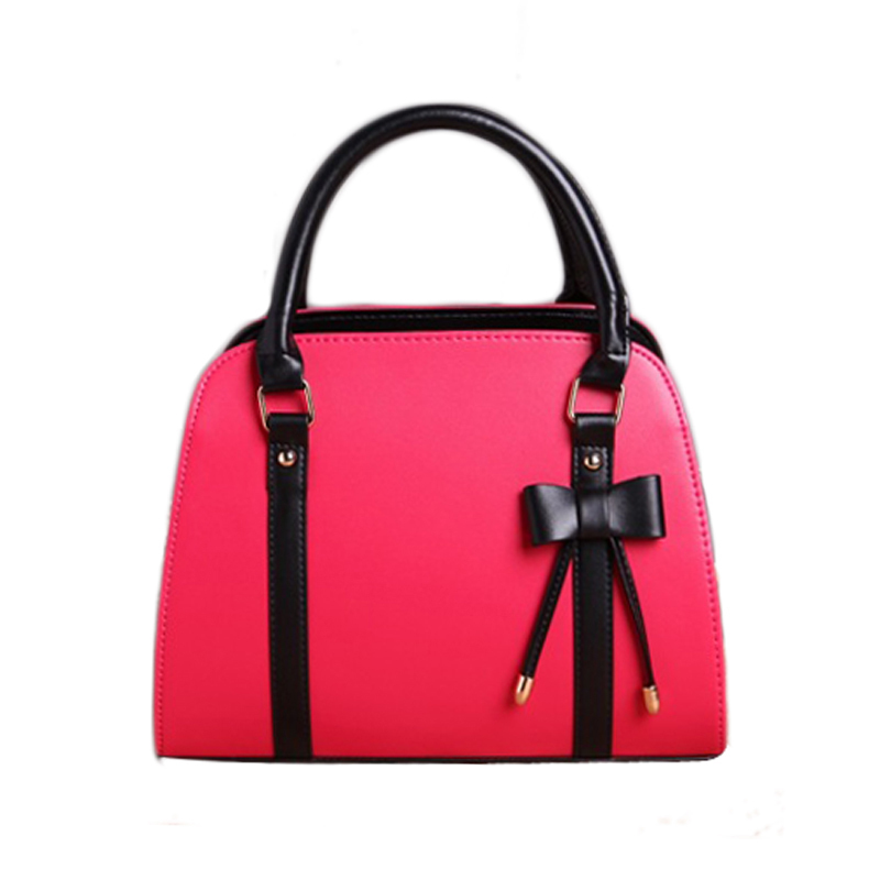 ФОТО 2017 PU Leather Bags For Women BOW Women's Shoulder Bags bolsa feminina Women's Handbags bolsos carteira feminina W0137