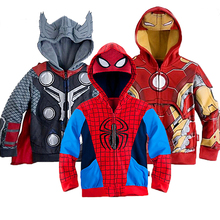 2019 Boys Hoodies Sweatshirts Avengers Marvel Superhero Iron