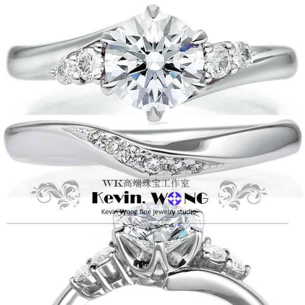 Lab Grown Diamond Ring Designer Brand Wedding Set Elegant Eggagement Rings
