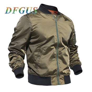 2017 Men's Military Bomber Flight Tactical Jacket Air Force pilot Baseball Army Combat Outwear Coats Jacket for Men