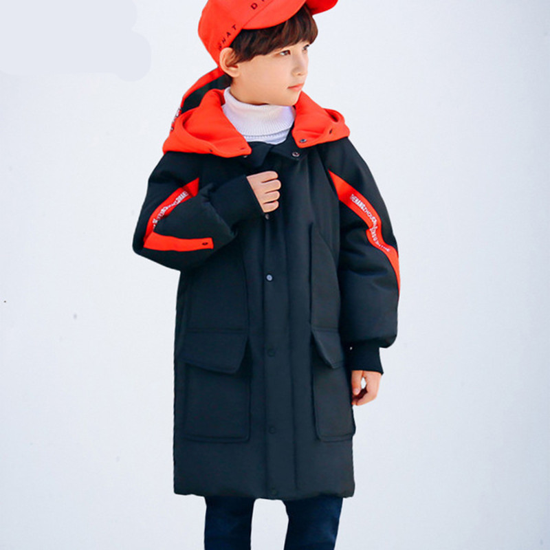 Boy Winter Coat Jacket Children Winter Jackets For Boys Casual Hooded Warm Coat Baby Clothing Outwear Fashion Boys Parka Jacket 2018 new fashion winter jacket men long thick warm cotton padded jackets coat parka overcoat casual outwear jacket plus size 6xl
