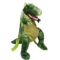 3D Vivid Dinosaur Plush Backpack for Waterproof Children Backpacks Kids Small Bag Girl Cute Animal Prints Travel Bags Toys Gifts