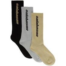 18SS men women socks Calabasas season 5 socks letter cotton long socks hip hop streetwear kanye west popsocket harajuku socks
