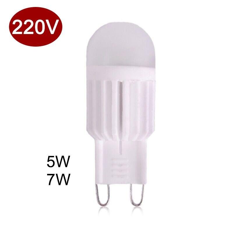 Mini G9 LED Bulb 5W 7W G9 Ceramic Lamp Dimmable 220V Corn Bulbs LED Light Bulb replace Halogen G9 for Chandelier