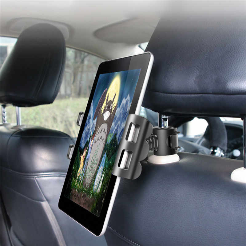 Adjustable Car Tablet Stand Holder for IPAD Tablet Accessories Universal Tablet Stand Car Seat Back Bracket For 4-11 Inch Tablet