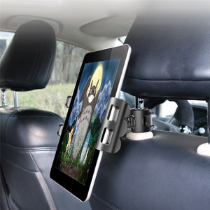 Adjustable Car Tablet Stand Holder for IPAD Tablet Accessories Universal Tablet Stand Car Seat Back Bracket For 4-11 Inch Tablet(China)