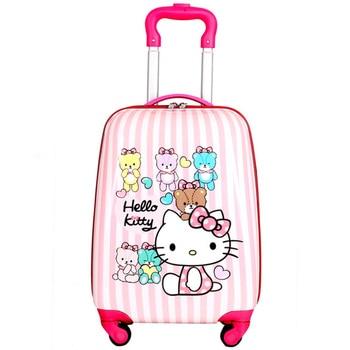 3c1d921d2c0b Новинка 2018, детские дорожные сумки на колесиках, чемодан для детей,  чемодан для детей, Складной футляр, дорожная сумка на колесах