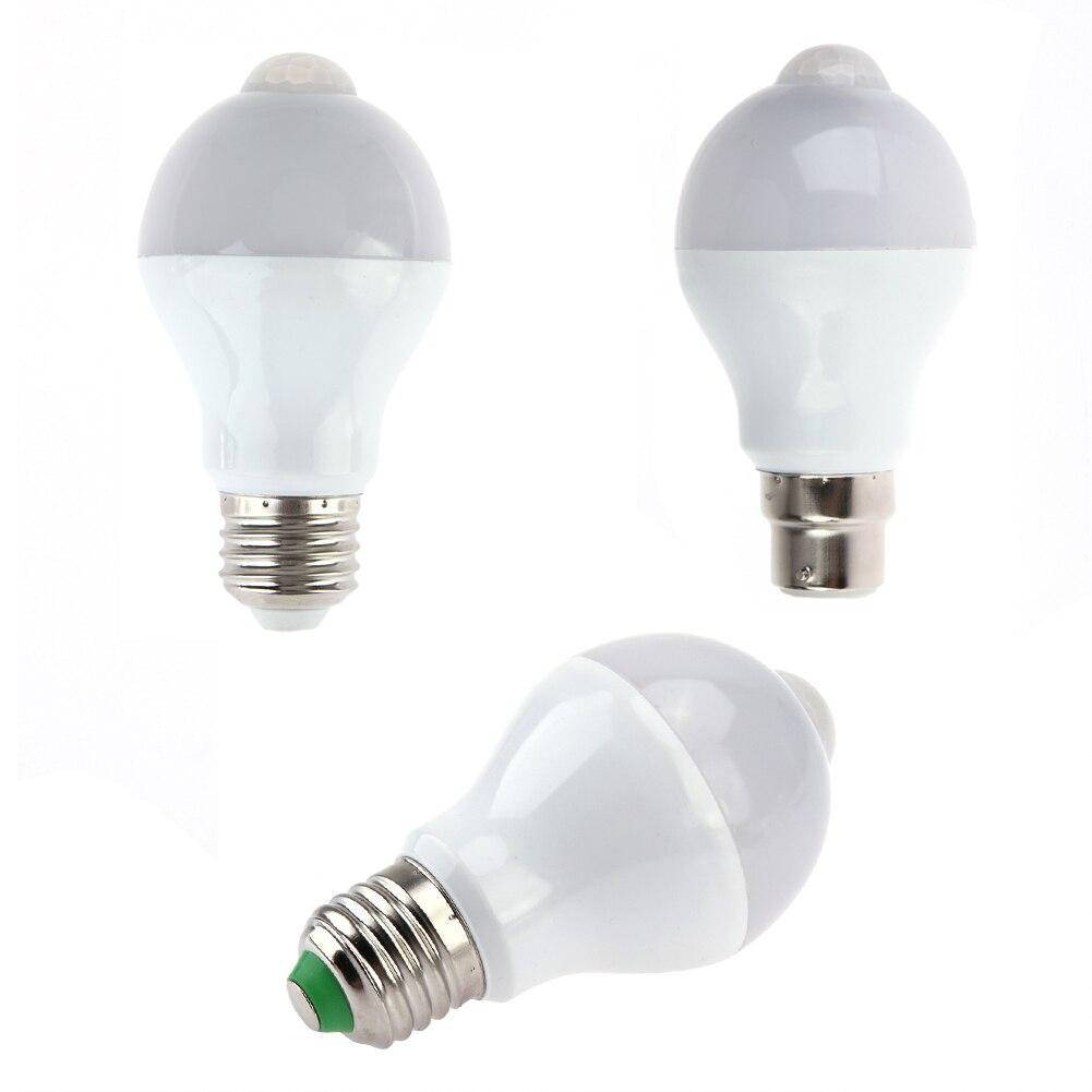 e27 e26 b22 7w 14led motion sensor light bulb pir infrared motion detection light indoor outdoor. Black Bedroom Furniture Sets. Home Design Ideas