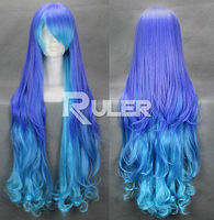 free shipping~~~Vocaloid Anti Color Mixed The Holic Luka Curly Anime Cosplay Party Wig HAIR