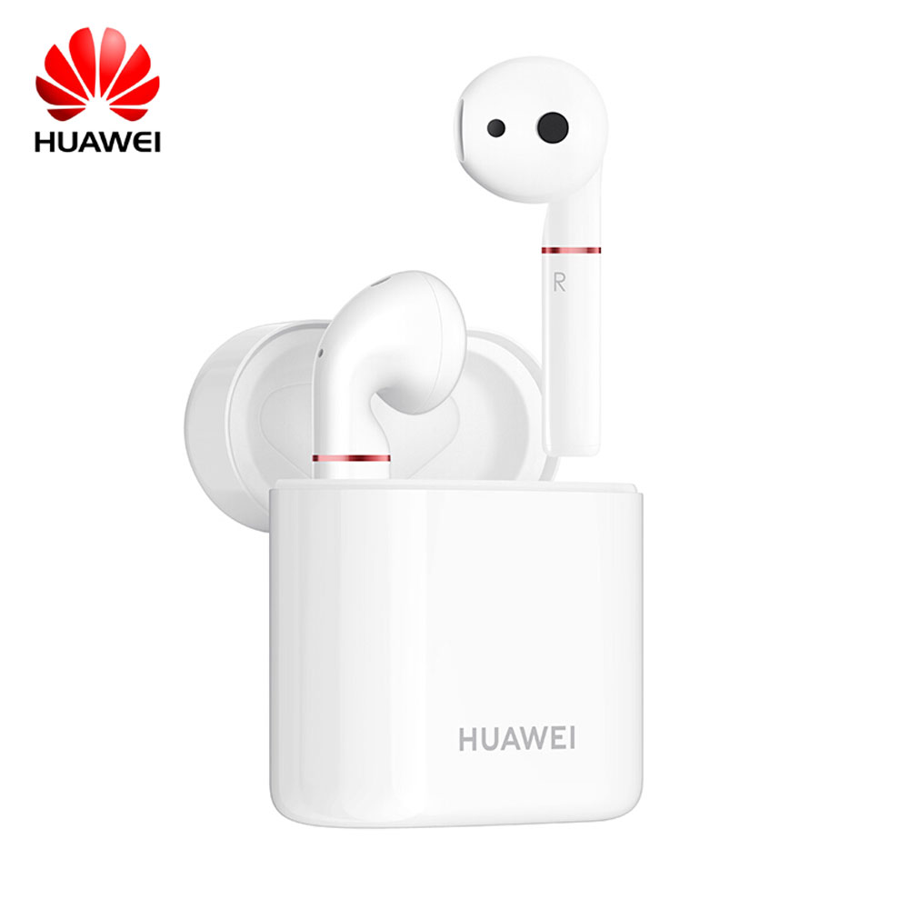 HUAWEI FreeBuds2 bluetooth headset true wireless running in ear mate20 p20 glory android apple standard accessory   white-in Bluetooth Earphones & Headphones from Consumer Electronics    1
