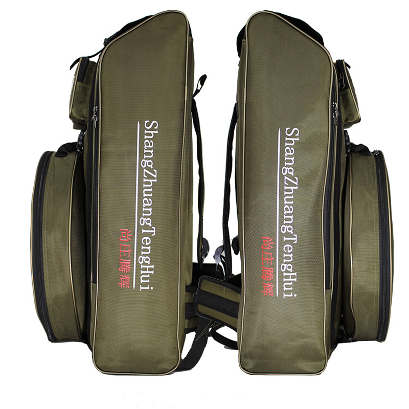 Image 4 - Large Capacity Fishing Bag waterproof Multifunctional Outdoor Tactical Backpack Trekking Sport Travel Camping Hiking Fishing Bag-in Fishing Bags from Sports & Entertainment