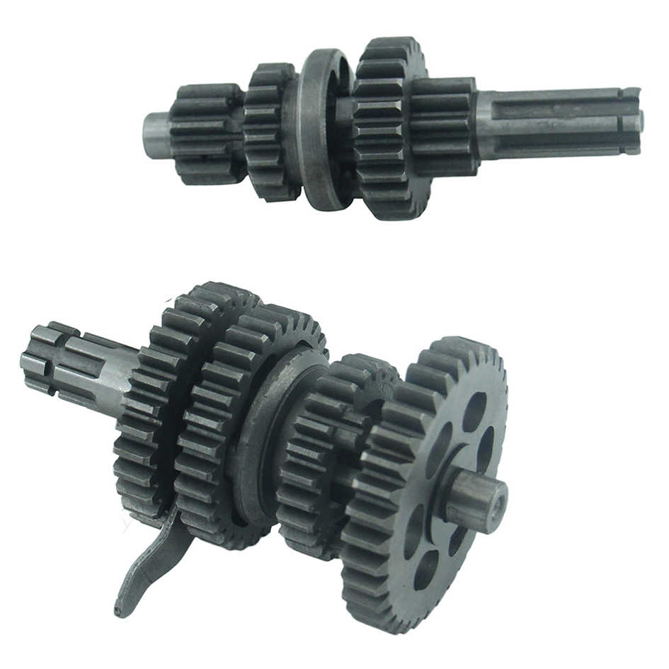 Main Counter Shaft with Reverse (3 forward + 1 reverse gear) for ATV with  50cc-110cc Engine