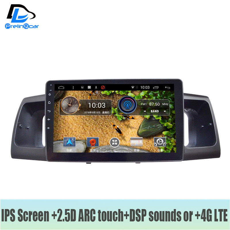 4G LTE Android 7.1 car gps multimedia video radio player in dash for toyota Corolla 2013-2018 years navigation stereo