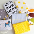 50x235cm cotton fabric twill Sheet Quilt cover Pillow case cloth lining tissu home textile concise ash yellow colour system
