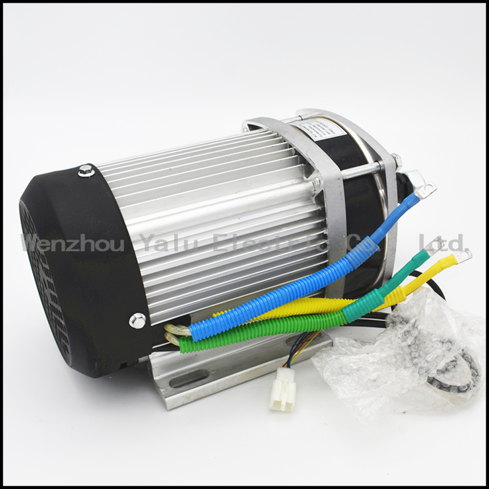 Купить с кэшбэком Heavy duty electric truck tricycle DC MOTOR BM1424ZXF(BLDC)2200W60/72V