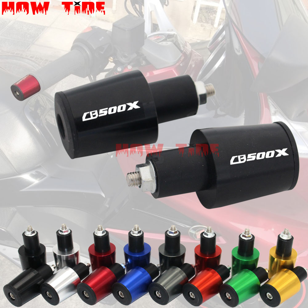 Motorcycle Accessories 7/8'' 22MM Handlebar Grips Handle Bar Cap End Plugs For HONDA CB500X CB 500 X CB500 X