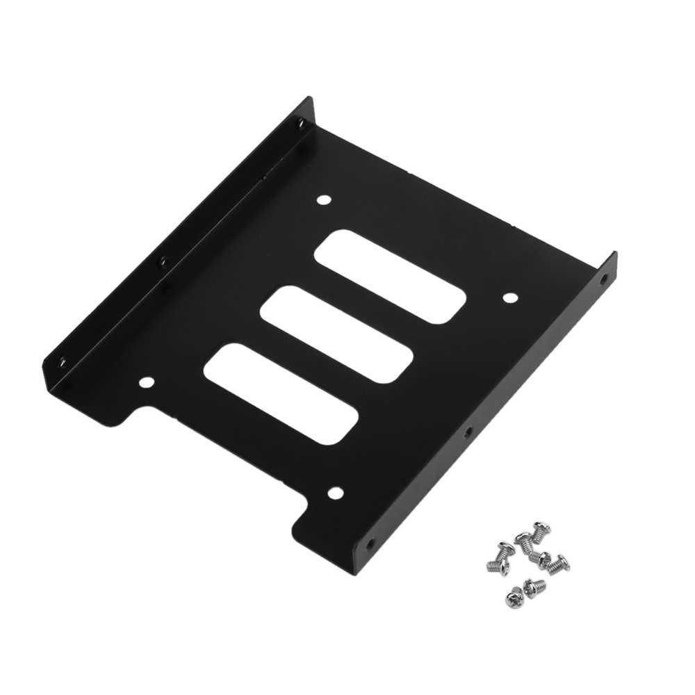 2.5 inch to 3.5 inch SSD/HDD Metal Sanding Sublight Adapter Mounting Bracket Hard Drive Dock for Computer Accessories