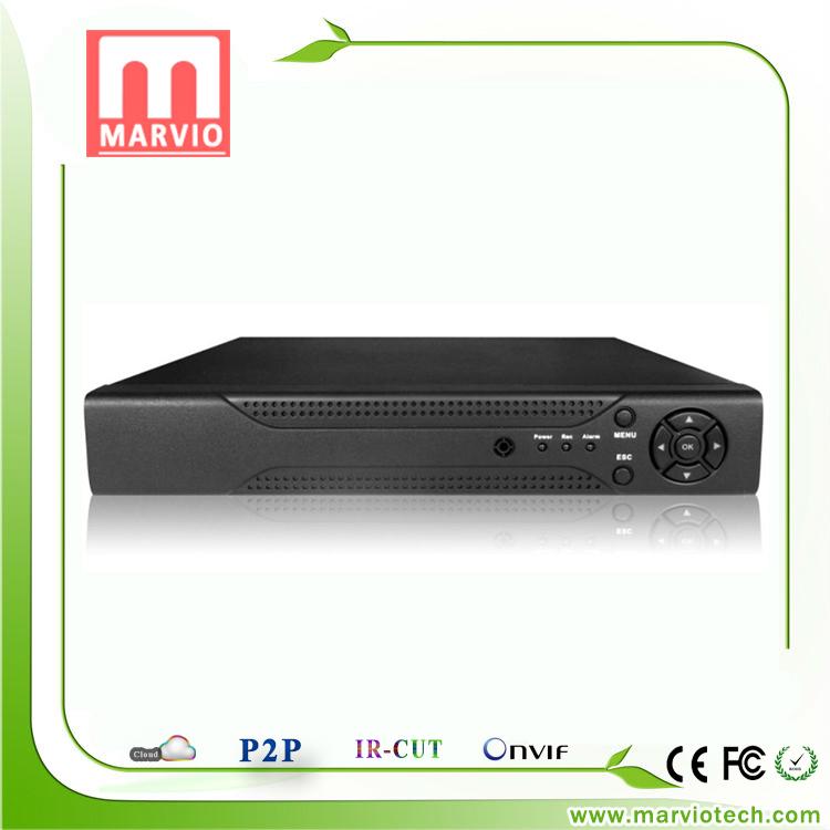 16ch 16 Channel Network Video Recorder NVR Max Support 5MP Recording Onvif P2P Two Sata Interface Reach 6TB Per One 1080P H.264