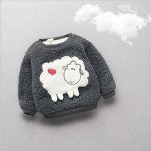 Jesień zima ciepłe grube kurtka dla niemowląt Baby Boy dziewczyny piękne odzież wierzchnia Sport list płaszcze dziecko niemowlę sweter odzież tanie tanio Dla dzieci Kurtki płaszcze cotton Moda REGULAR R-718 O-neck Pełna Polar Poliester Unisex Pasuje prawda na wymiar weź swój normalny rozmiar