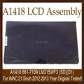 """Original New A1418 661-7109 Full Complete LCD Screen Assembly With Front Glass Panel 21.5"""" LM215WF3 (SD)(D1) 2012 2013"""