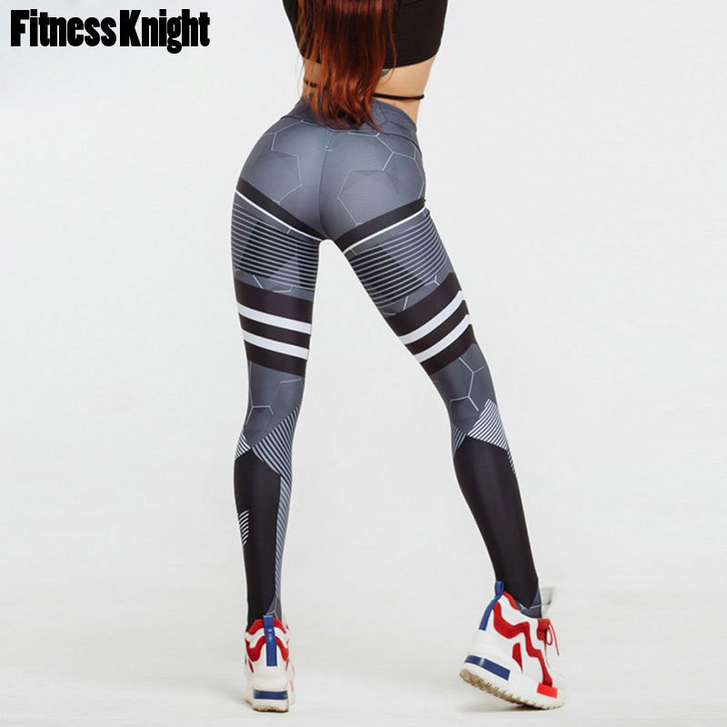 Yoga Pants High Waist Leggings For Fitness Women Sport Leggings Print Yoga Leggings Sport Pants Female Gym Jogging Running Pants