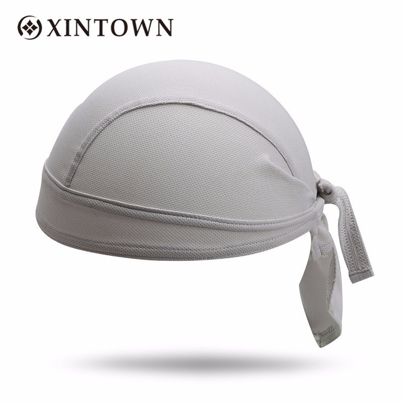 Free Size Outdoor Cycling Hat Men Pirate Bandana Bicycle Sweatproof Headband Quality Sunscreen Breathable Riding Sport Headwear