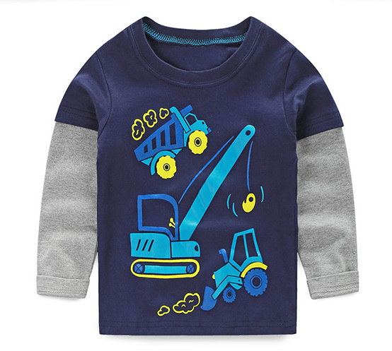 HTB1kSY.RVXXXXa XFXXq6xXFXXXN - VIDMID boys t-shirt long sleeves children's t-shirts autumn cartoon kids shirts for boys clothes cotton baby clothes boy t-shirt