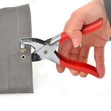 Кнопка втулки заклепка для обуви сумка плоскогубцы кожаный ремень холст Бытовая заклепка Застежка ручной инструмент для автомобиля