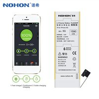 NOHON 5G 3 8V Battery Fits For IPhone 5 Li Ion Battery Replacement 1590mAh Large Capacity
