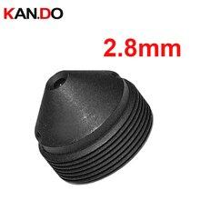 "HD 3,0 megapíxeles 2,8mm pinhole CCTV lente, montaje 12*0,5, F2.0, 1/2.7 ""imagen formato botón lente Cámara"