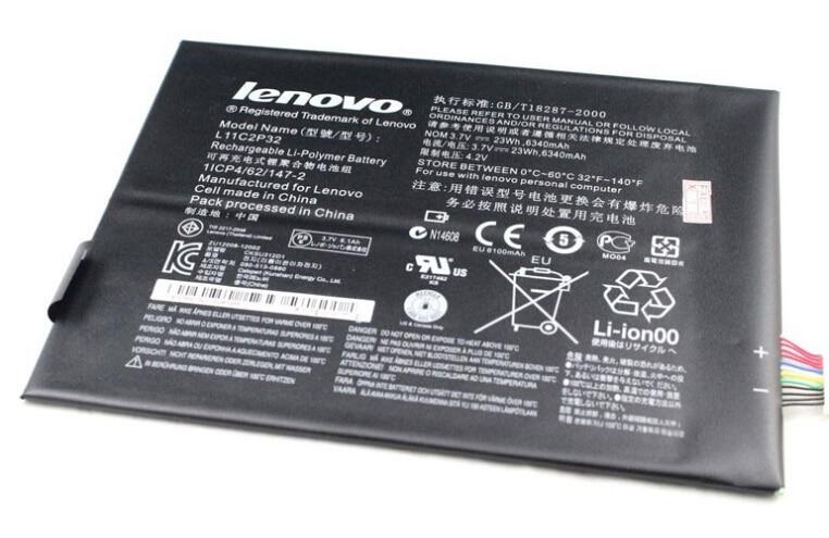100 Original Tablet pc Battery 6350mAh For Lenovo IdeaTab S6000 Idea Tab S600H B6000 F Bateria