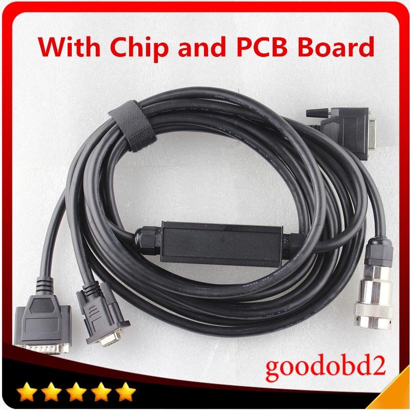 imágenes para Cables del coche y Conector RS232 a RS485 Cable para MB Accesorios de Cable de Diagnóstico del Multiplexor de la ESTRELLA C3 Con Chip y PCB junta