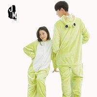 All In One Flannel Anime Character Pijama Cartoon Cosplay Warm Sleepwear Hooded Homewear Women Cute Animal