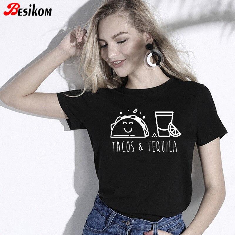 Camisa de algodão de manga curta de manga curta solta ajuste verão streetwear sólido tshirt