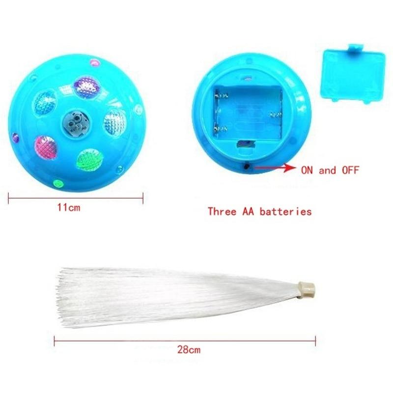 Волоконно-оптический светодиодный ночник лампа