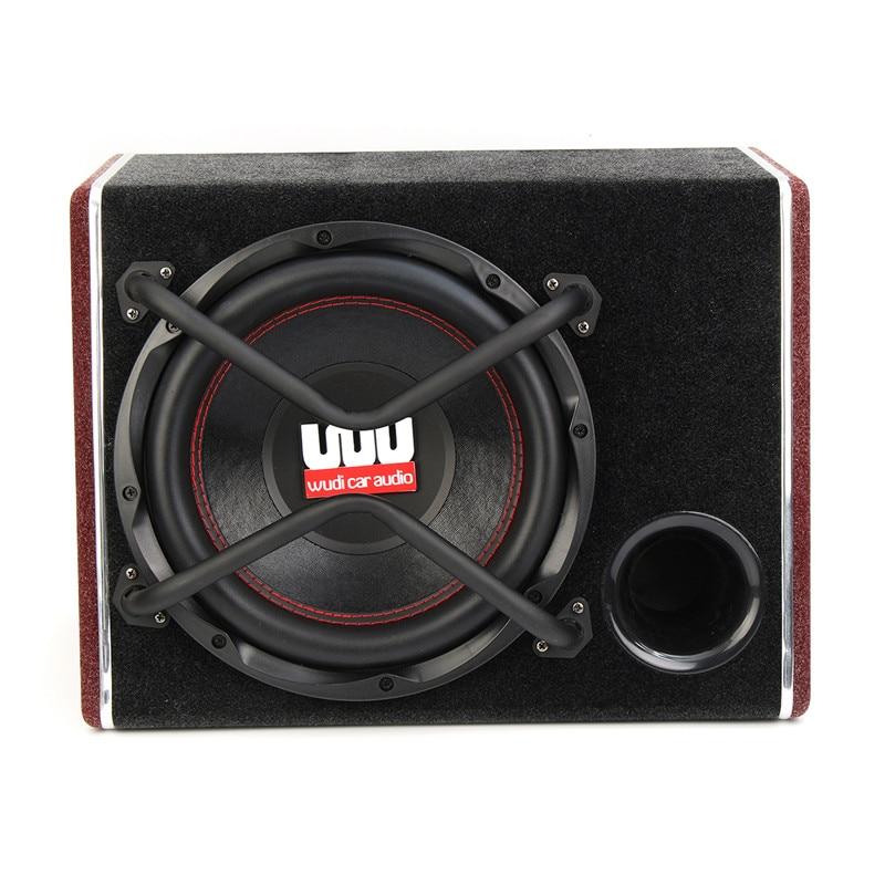 1200W Car Subwoofer Audio Active Sub Woofers Auto Car Sub Woofers Vehicle High Power Amplifier Speaker Super Bass