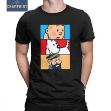 Tintin Milou Haddock The Adventures Of Tintin T Shirt for Me