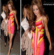 multi color bandage o-neck women clothing in the summer,wholesale price factory women dress