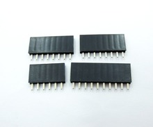 5*6Pin  10*8Pin 5*10Pin toal 20pcs 2.54 mm Stackable Song Legs Female Header For Arduino Shield