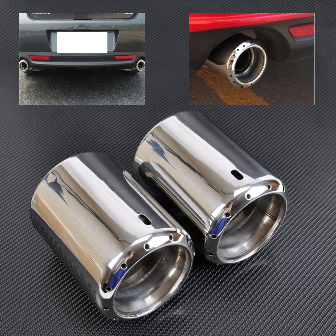 DWCX 2x nouveau tuyau de pointe de silencieux arrière en acier inoxydable pour 2009-2012 2013 2014 Mazda 6 ATENZA 2013 2014 Mazda CX-5