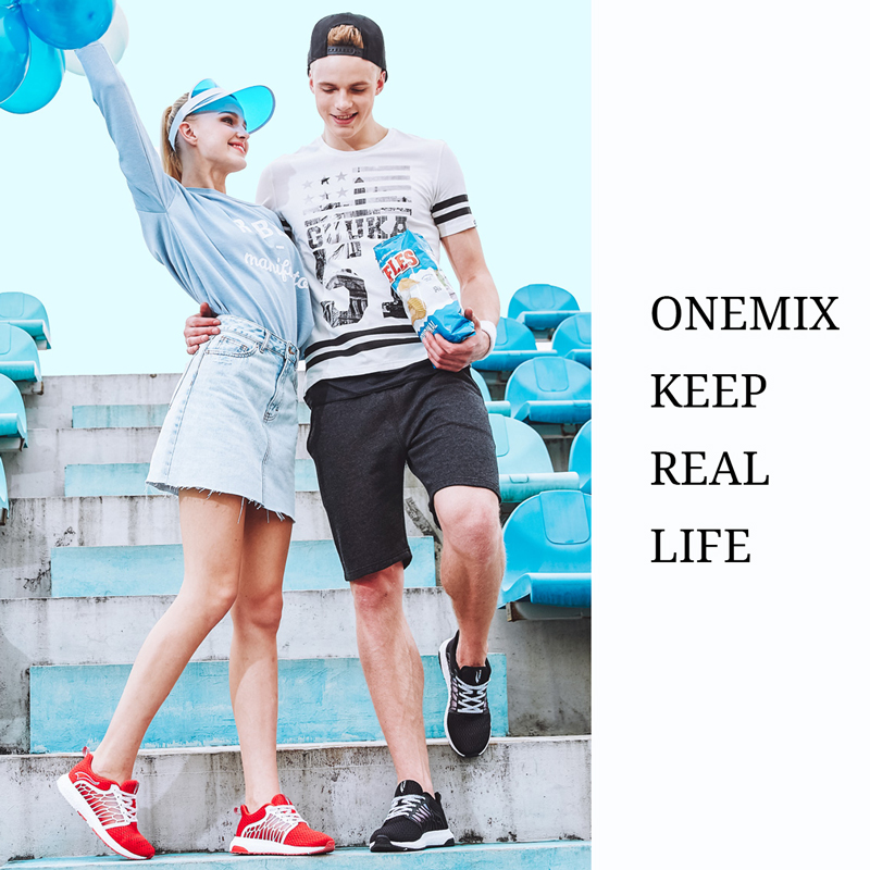 ONEMIX Unisex Running Shoes Andas Mesh Män Athletic Shoes Super - Gymnastikskor - Foto 6