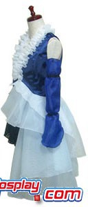 Final Fantasy XII 12 Yuna Lenne Song Dress Costume H008
