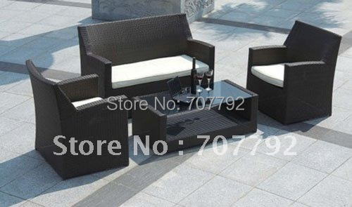 creative synthetic rattan outdoor furniture in garden sofas from