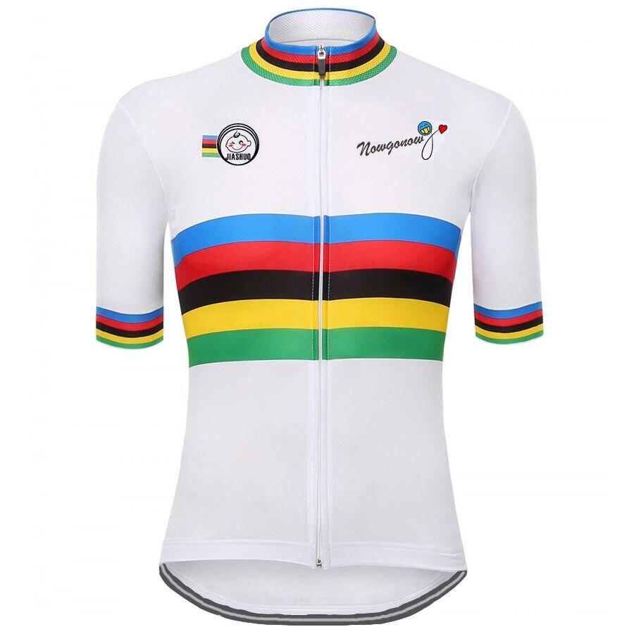 Prix pour NEW Summer Hommes de Vélo Jersey à manches courtes/blanc Vélo Clothing Vélo Court Maillot Ciclismo Vélo Vêtements Respirant