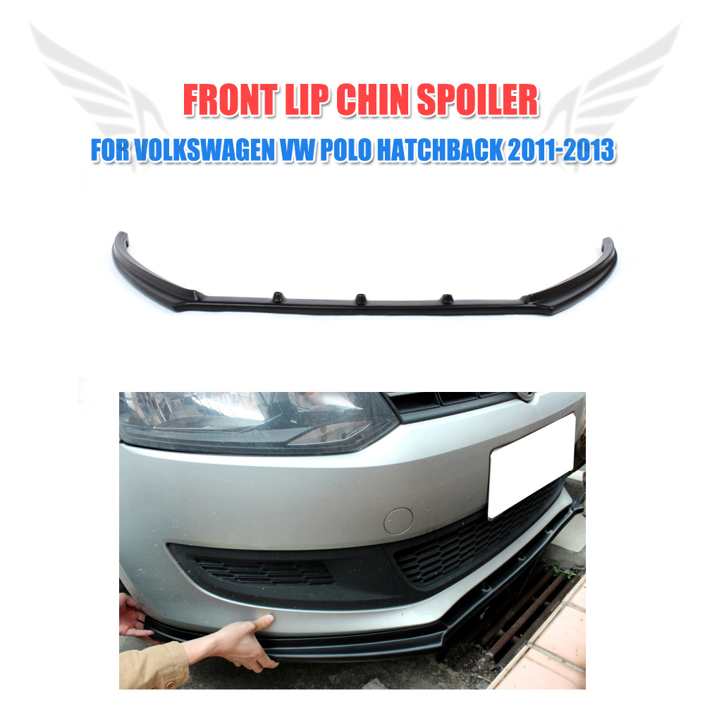 Front Lip Chin Spoiler Body Kit Fit For VW Polo 6R Non-GTI Bumper Unpainted 2007 bmw x5 spoiler