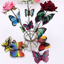 Butterfly Decoration Wallpaper Kitchen Stickers Wedding-Party-Furniture PVC 10pcst Magnet